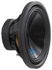 "Alpine - Type-S 15"" Dual-Voice-Coil 4-Ohm Subwoofer - Black"
