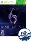 Resident Evil 6 – PRE-OWNED - Xbox 360