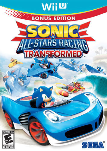 Sonic & All-Stars Racing Transformed Bonus Edition - Nintendo Wii U
