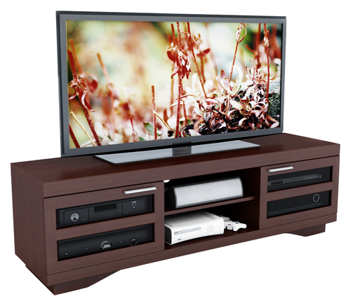 Sonax - TV Stand for Most 48 - 80 Flat-Panel TVs - Brown