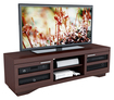 """Sonax - TV Stand for Most 48"""" - 80"""" Flat-Panel TVs - Brown"""