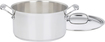Cuisinart - Chef's Classic 6-Quart Sauce Pot - Stainless-Steel