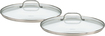 Cuisinart - Chef's Classic 2-Piece Lid Set for Select Chef's Classic Skillets - Clear