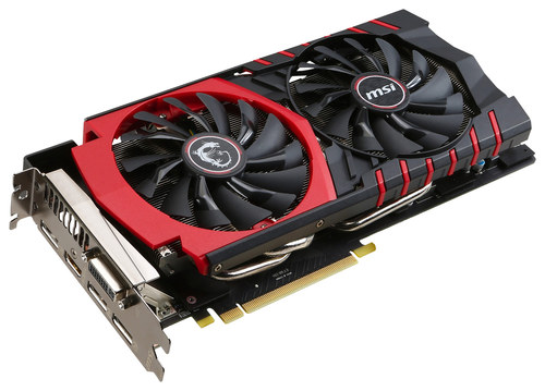 MSI - Nvidia GeForce GTX 980 4GB GDDR5 Sdram PCI Express 3.0 Graphics Card - Black/Red