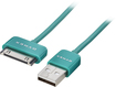 Dynex™ - 3' USB-to-Apple® 30-Pin Charge-and-Sync Cable - Emerald