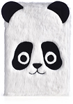 "Studio C - Wild Fur You Panda Case for Most Tablets Up to 8"" - Black/White"
