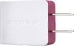 Dynex™ - USB Wall Charger - Ruby