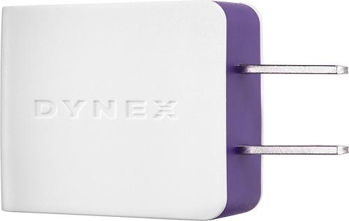 Dynex™ - USB Wall Charger - Amethyst