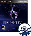 Resident Evil 6 — PRE-OWNED - PlayStation 3