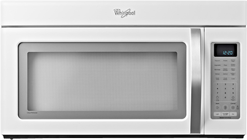 whirlpool open box 20 cu ft microwave white ice