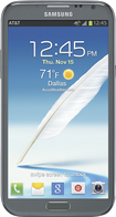 Samsung - Galaxy Note II 4G Cell Phone - Titanium Gray (AT&T)