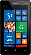 Nokia - Lumia 820 4G with 8GB Memory Cell Phone - Black (AT&T)