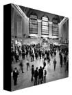 Trademark Art - Nina Papiorek Rush Hour Gallery-Wrapped Canvas - Black/White