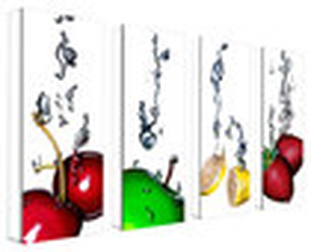 Trademark Art - Roderick Stevens Splash II Gallery-Wrapped Canvas - Multicolor