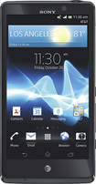 Sony - Xperia TL 4G Mobile Phone - Black (AT&T)