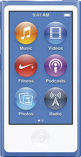 Apple - iPod nano® 16GB MP3 Player (8th Generation - Latest Model) - Blue