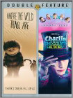 Where the Wild Things Are/Charlie and the Chocolate Factory [2 Discs] (DVD) (Eng/Fre/Spa)
