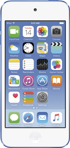 Apple - iPod touch® 16GB MP3 Player (6th Generation - Latest Model) - Blue