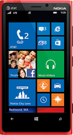 Nokia - Lumia 920 4G Cell Phone - Red (AT&T)