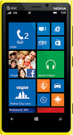 Nokia - Lumia 920 4G Cell Phone - Yellow (AT&T)