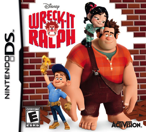 Wreck-It Ralph Video Game for Nintendo DS