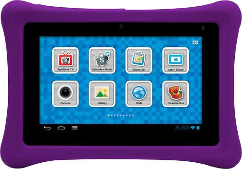 nabi - Bumper Case for nabi 2 Tablets - Purple