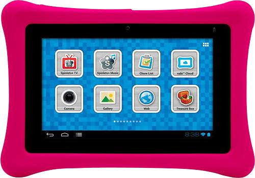 nabi - Bumper Case for nabi 2 Tablets - Pink