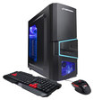 CyberPowerPC - Gamer Xtreme Desktop - Intel Pentium - 4GB Memory - 500GB Hard Drive - Black/Blue