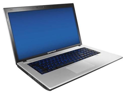 CybertronPC - Matrix 17.3 Laptop - Intel Core i7 - 16GB Memory - 1TB Hard Drive - Black/Silver