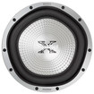 "Sony - GTR Series 12"" Single-Voice-Coil 4-Ohm Subwoofer - Silver"