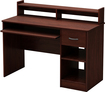 South Shore - Axess Small Computer Desk - Cherry