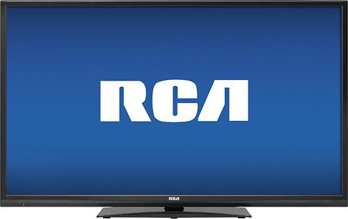 """RCA - 40"""" Class (39-1/2"""" Diag.) - 1080p - LED - 60Hz - HDTV - Black"""