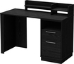 South Shore - Academic Desk - Black Oak