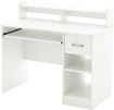 South Shore - Axess Computer Desk - White