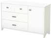 South Shore - Tiara Dresser - White