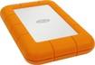 LaCie - Rugged 1TB External USB 3.0/Thunderbolt Portable Hard Drive - Orange/Silver