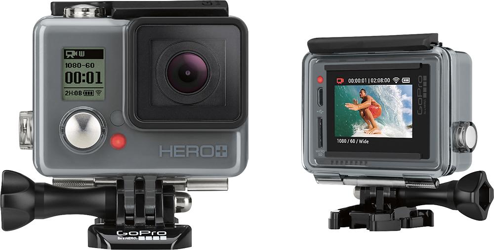 GoPro - Hero+ LCD HD Waterproof Action Camera