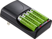 Dynex™ - AA Battery Charger - Black