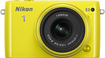 Nikon - 1 S2 Mirrorless Camera with 1 NIKKOR 11-27.5mm f/3.5-5.6 Lens - Yellow