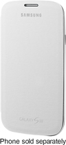 Samsung - Flip Cover For Samsung Galaxy S Iii Cell Phones - White