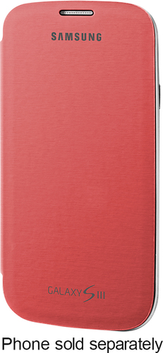 Samsung - Flip Cover for Samsung Galaxy S III Cell Phones - Pink