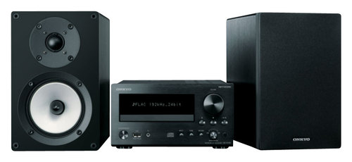 Onkyo - 26W Compact Shelf System with AM/FM Tuner