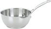 Cuisinart - 1-Quart Open-Pour Saucier - Stainless-Steel