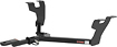 CURT - Class 2 Receiver Hitch for Select 2005-2009 Subaru Legacy and Subaru Outback Vehicles - Black