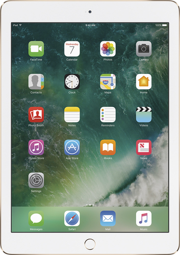 Apple - Geek Squad Certified Refurbished Air 2 Wi-Fi 64GB - Gold