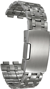 Pebble - Steel Stainless-Steel Band for Pebble Steel Smart Watches - Silver