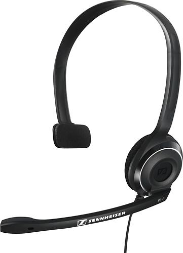 Sennheiser - PC 7 USB Over-the-Ear Headset - Black