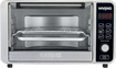 Waring Pro - Convection Toaster/Pizza Oven - Black and Brushed Stainless Steel