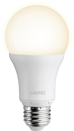 Belkin - WeMo 800-Lumen, 10W Dimmable A19 Smart LED Bulb, 60W Equivalent - Warm White
