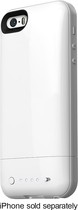 mophie - juice pack air Charging Case for Apple® iPhone® 5 and 5s - White
